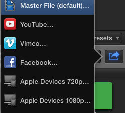 How do I export a high quality movie from Final Cut Pro (or other apps)?